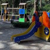 Juegos Infantiles en el Parque Municipal de Elche.