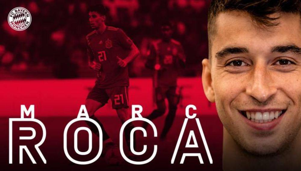 Marc Roca ja és del Bayern