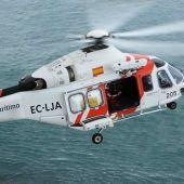 Helicóptero Salvamento marítimo