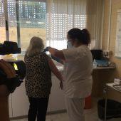 Vacunación en el Centro Social del Raval