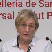 La consellera de Sanitat, Ana Barceló.