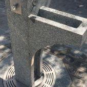 Fuente de agua en Cádiz