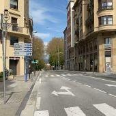 Pamplona vacía