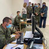 Rastreadores militares en Aragón