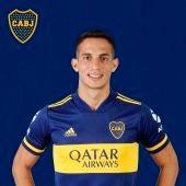 Iván Marcona, con la camiseta de Boca Juniors.