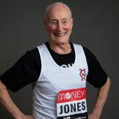 Ken Jones, participante en el Maratón de Londres