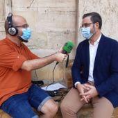 El alcalde de Palma, José Hila, entrevistado en Cort.