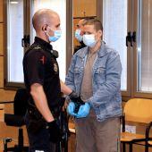 El acusado durante el juicio celebrado en el Audiencia de Ciudad Real