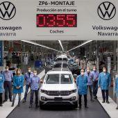 Producción Volkswagen Navarra