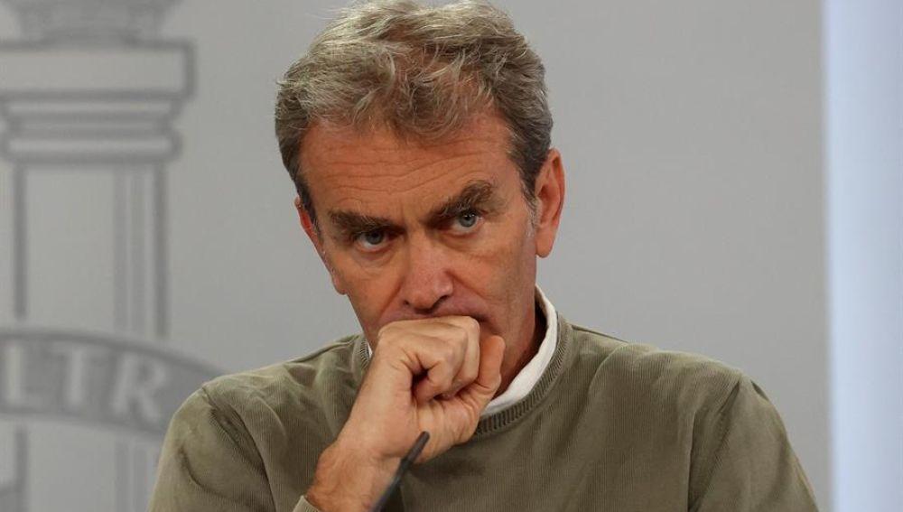 Fernando Simón, coordinador de Alertas y Emergencias.