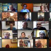 Reunión telemática de la junta directiva del PP de Ciudad Real