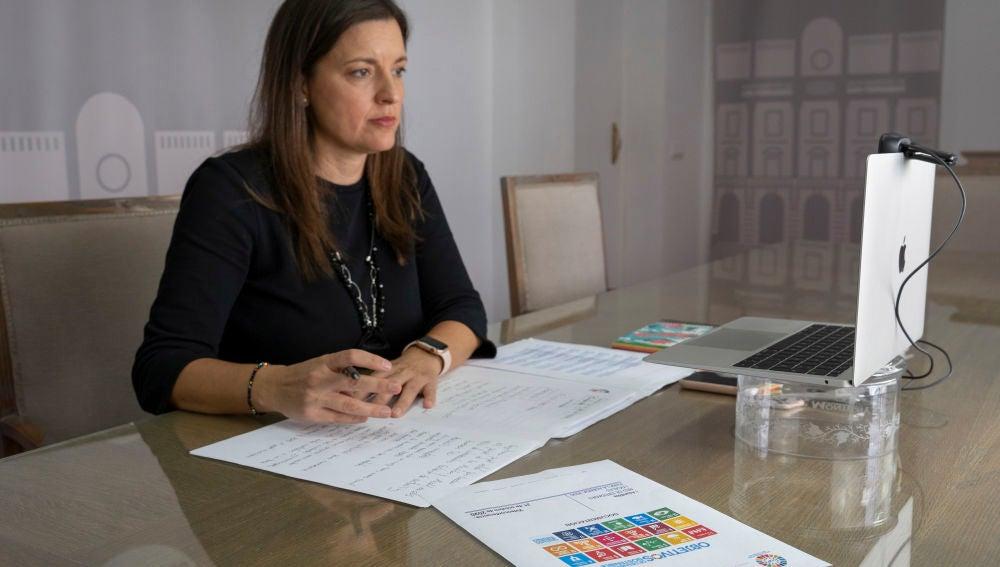 La alcaldesa de San Fernando, Patricia Cavada