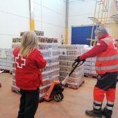 Cruz Roja repartirá 180.000 kilos de alimentos en la provincia