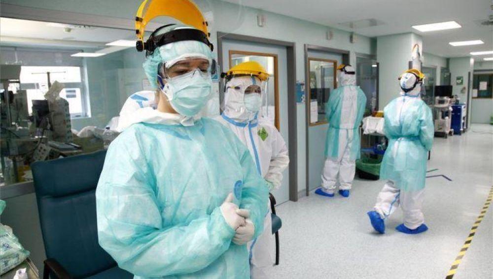 UCI del Hospital Miguel Servet