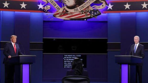 La moderadora, la más elogiada tras un debate contenido entre Trump y Biden