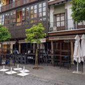 Fachada de un restaurante en Sevilla