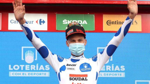 La Vuelta a España: Tim Wellens se hace con la quinta etapa