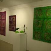 Exposición arte abstracto en El Recreo
