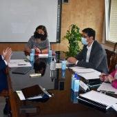Reunión entre Hernando, Caballero y Zamora
