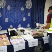 Operación policial contra el narcotráfico