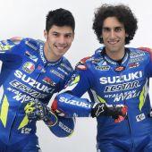 Los dos piloto de Suzuki