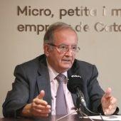 Josep González, a la seu de PIMEC.