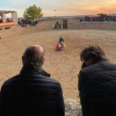 Tentadero toros en Finca las Cuadrillas