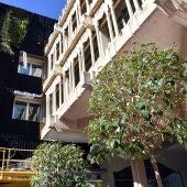 Inicio de los trabajos de plantación del jardín vertical de Ciudad Real