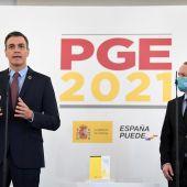 Pedro Sánchez y Pablo Iglesias comparecen para explicar el acuerdo de presupuestos