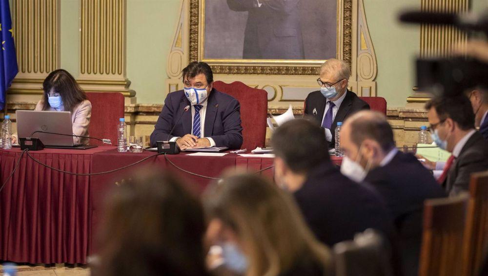 Sesión plenaria de octubre en el Ayuntamiento de Huelva