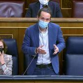 """Iglesias, al PP: """"Su discurso moderado ha durado menos que la mili de Abascal"""""""