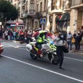 Salida Logroño etapa Vuelta a España 2020