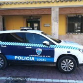 Coche de la Policía Local de Argamasilla de Alba