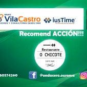 RecomendACCION!!! con Restaurante O Chicote