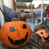 Detalle de la fiesta de Halloween en Marineland Mallorca