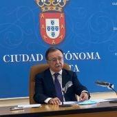 Juan Vivas, Presidente de Ceuta