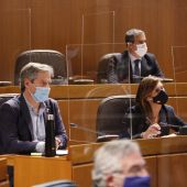 Representantes de Ciudadanos durante el Debate