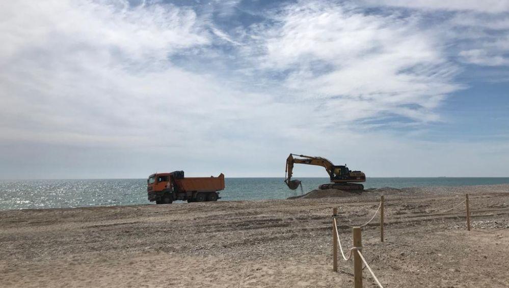 La Demarcación de Costas de Valencia se ha comprometido a tener listo el proyecto para la costa de Sagunto antes de final de año.