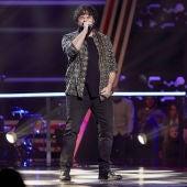 Alejandro Frey canta 'Come together' en los Asaltos de 'La Voz'