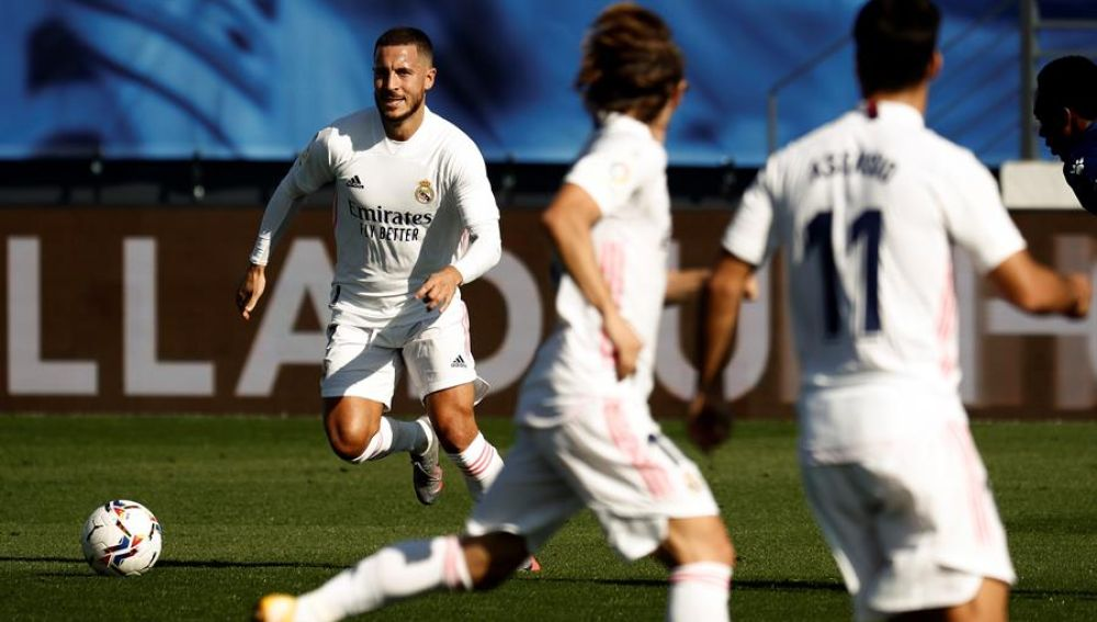 Hazard marca su segundo gol con el Real Madrid