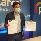 Miguel Ángel Valverde ha presentado hoy los avales de su candidatura