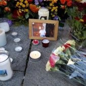 Imagen del homenaje a las víctimas del atentado en Niza
