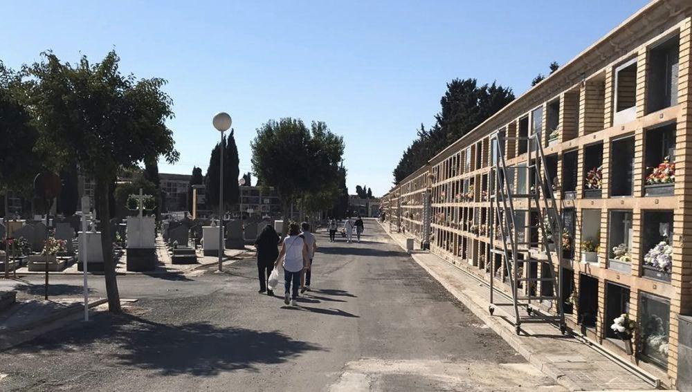 Nichos del Cementerio municipal de Alicante