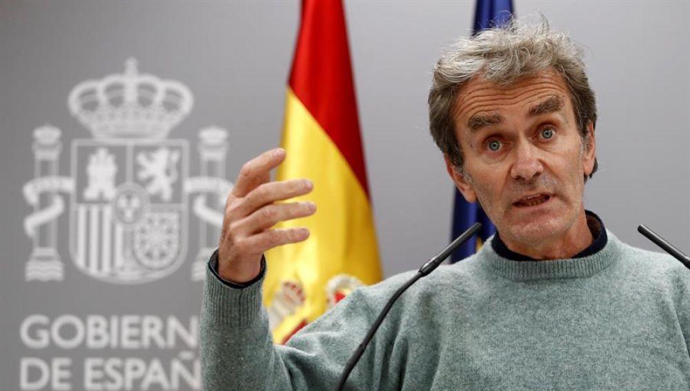 """Fernando Simón: """"Los últimos datos apuntan a que España podría estar en fase de estabilización"""""""