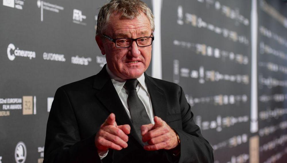 Mike Downey, productor irlandés, presidente de la Academia del Cine Europeo, en el photocall de sus premios