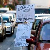 Protestas empresarios y trabajadores del ocio nocturno, hostelería y los espectáculos