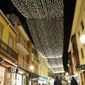 Más luces de navidad para estimular las compras el comercio local de Alcázar