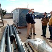 Obras en la Depuradora de Aguas Residuales de Herencia