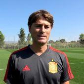 Julen Guerrero, segundo entrenador en la sub-21.