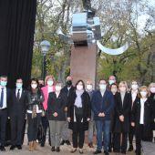 Acto institucional inauguración Monumento Víctimas COVID-19